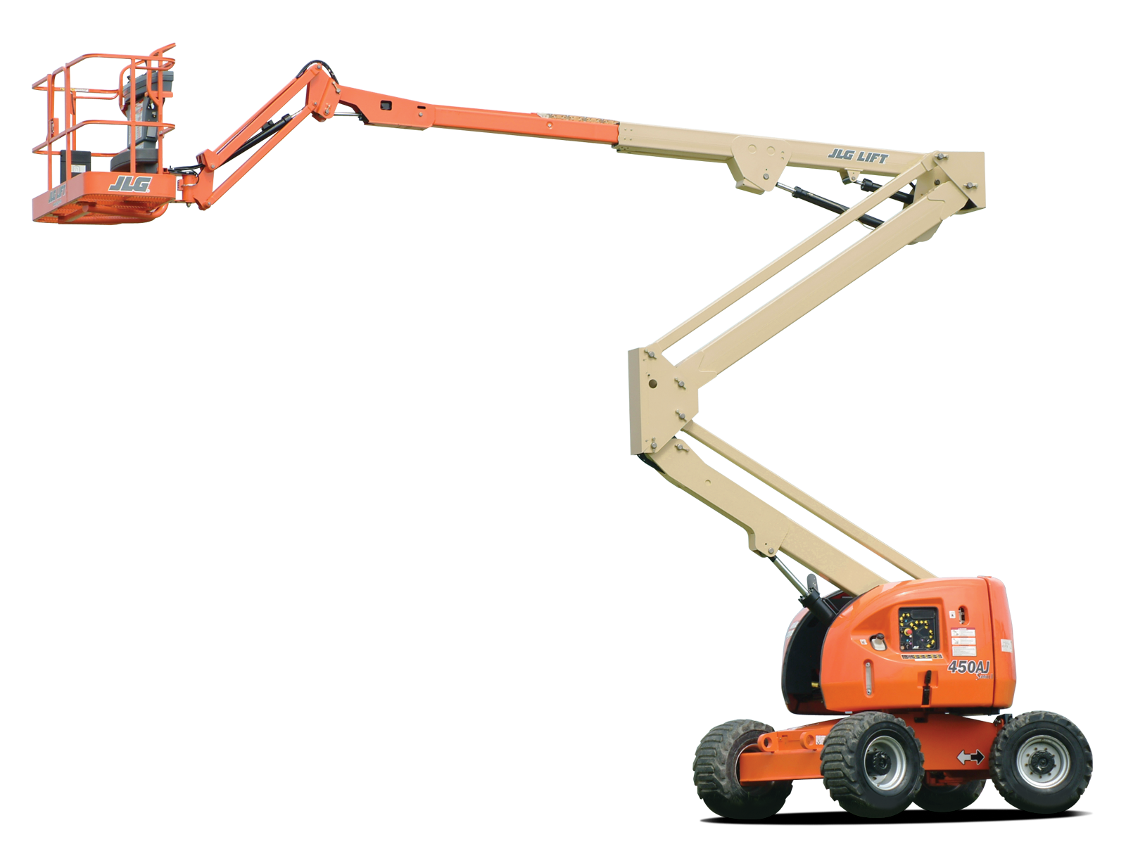 JLG 450AJ | Articulated Manlifts on Rent | WESTERN INDIA SKY LIFTER