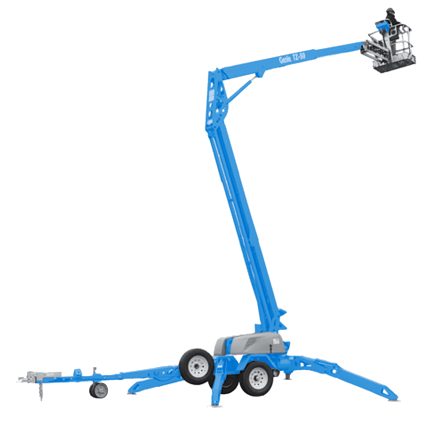 GENIE TZ-50 | Towable Boom Lifts on Hire | WESTERN INDIA SKY LIFTER