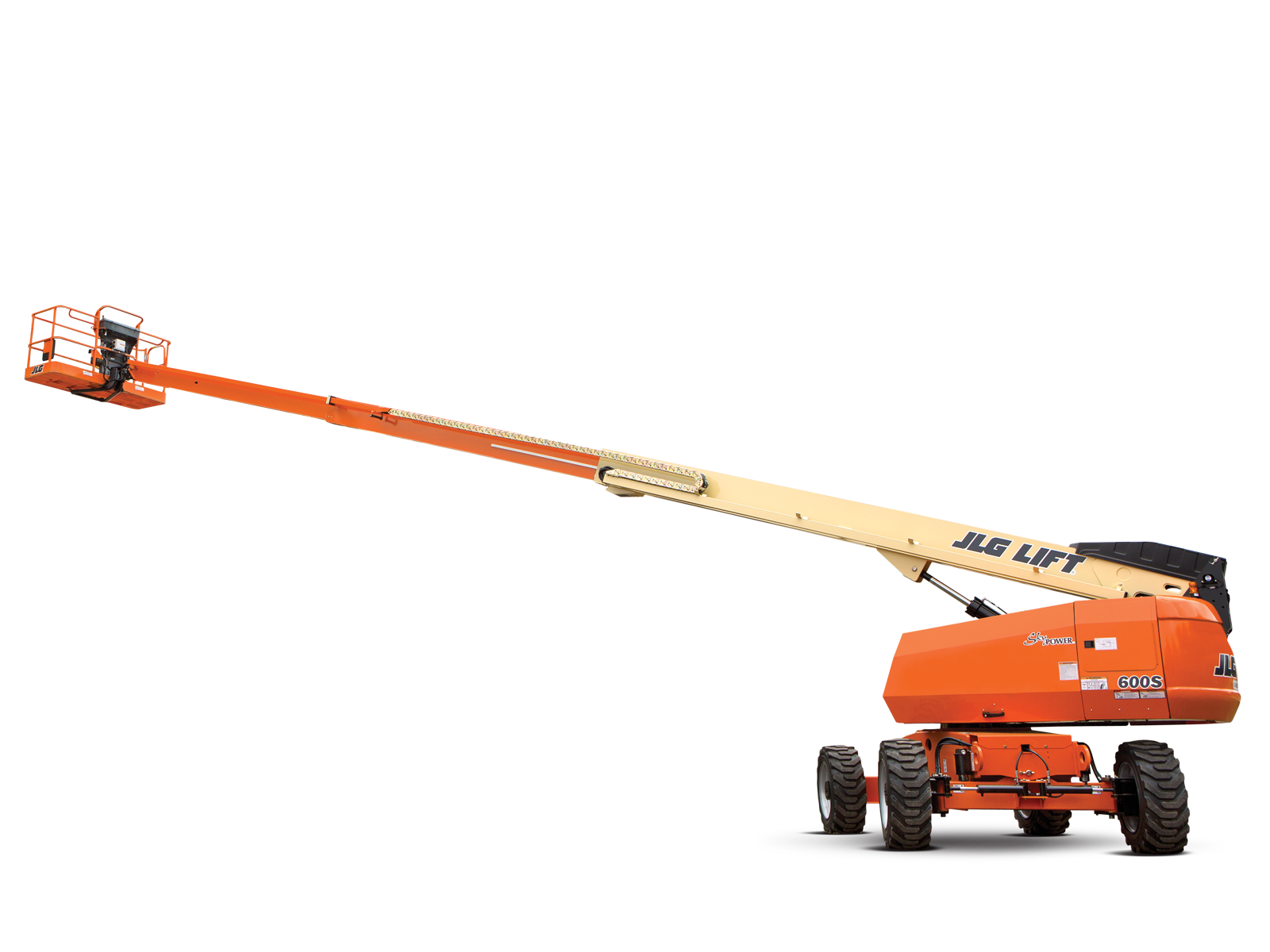 JLG 600S | Telescopic Boom Lift on Hire |  WESTERN INDIA SKY LIFTER
