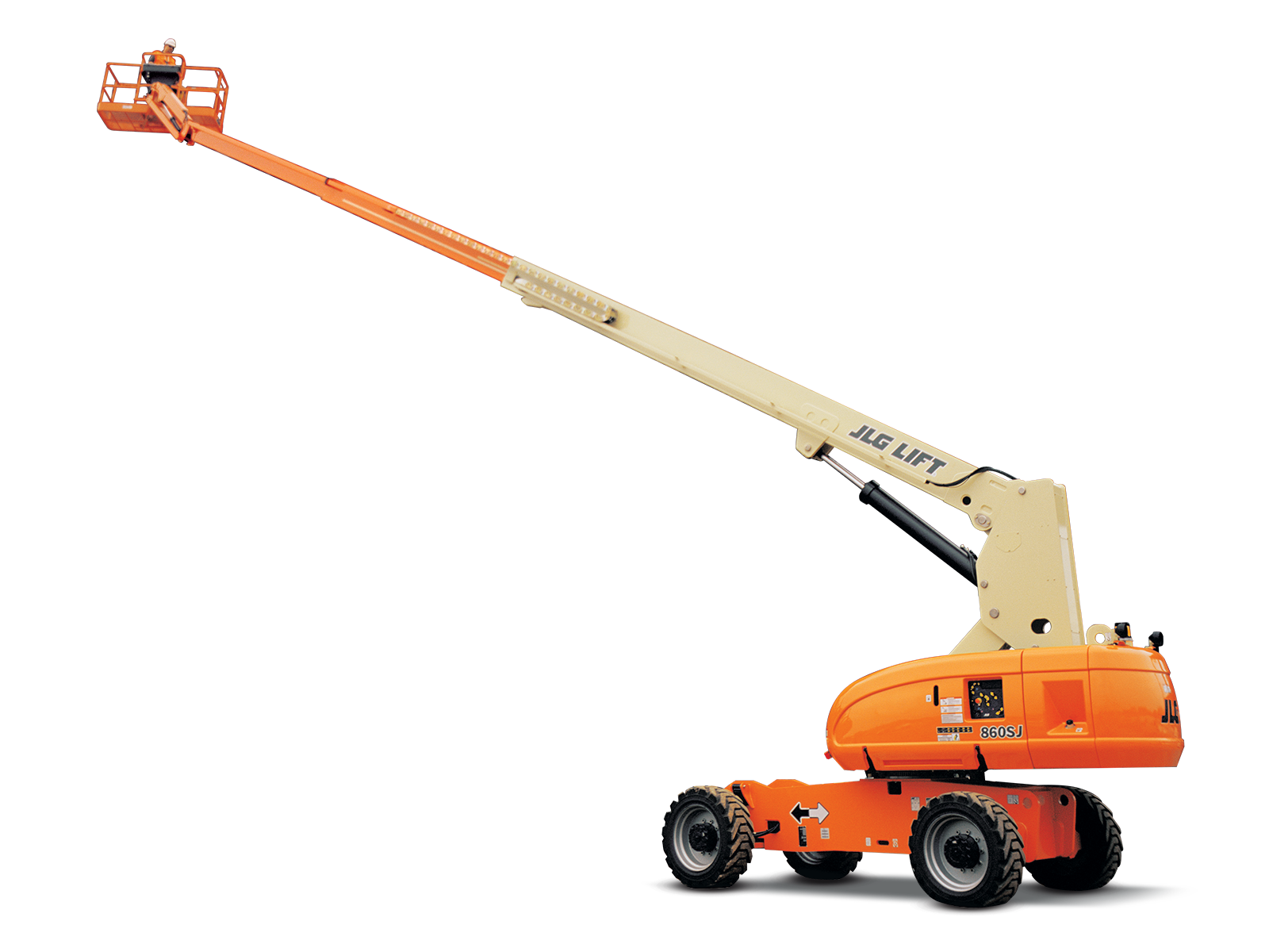 JLG 860SJ | Telescopic Boom Lift on Hire |  WESTERN INDIA SKY LIFTER