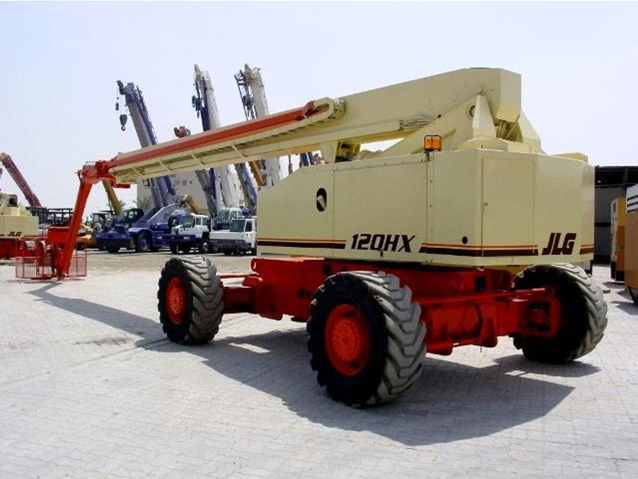 JLG 120HX | Telescopic Boom Lift on Hire | WESTERN INDIA SKY LIFTER