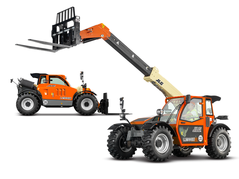 Telehandler Boom Lift on Hire